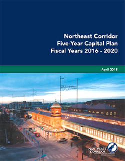 Northeast Corridor Five Year Capital Plan Website